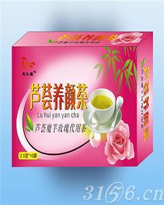凤仁堂芦荟魔芋玫瑰花代用茶