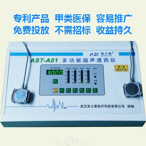 多功能超声透药仪(甲类医保,不招标,有耗材)