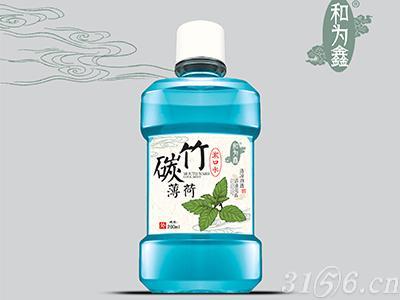 竹碳薄荷漱口水