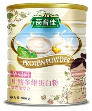 茵育佳孕妈妈叶酸多维蛋白粉