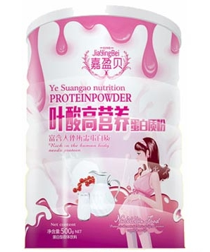嘉盈贝叶酸高营养蛋白质粉