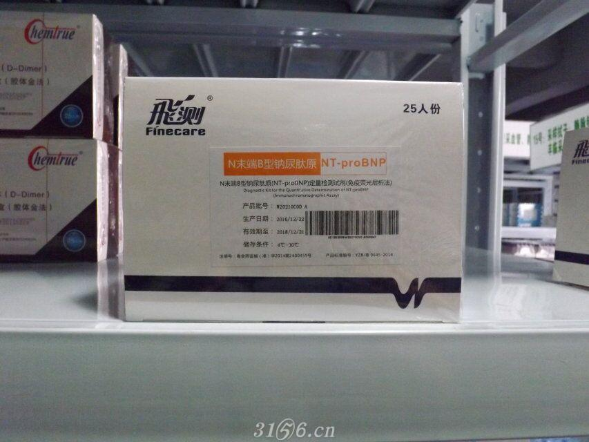 N末端B型钠尿肽原(NT-proBNP)定量检测试剂