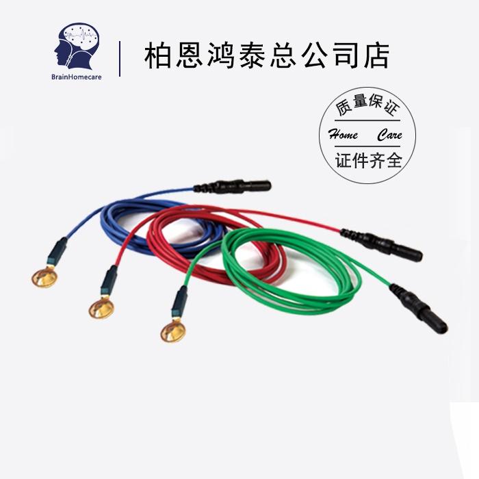 脑电图电极线医用盘状电极线