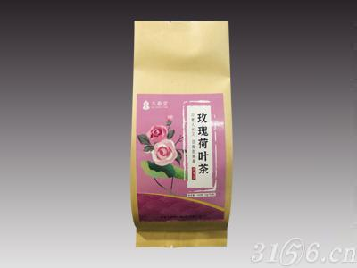久春茶玫瑰荷葉茶(袋)