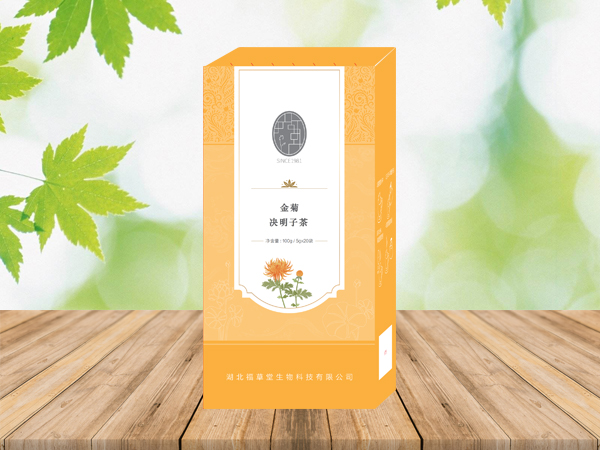 金菊决明子茶